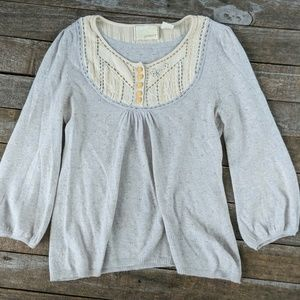 Anthropologie Guinevere sweater size small